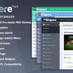 [GET] – WordPress Admin Theme – WPShapere v4.9