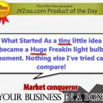 [GET] [JVZOO-POTD] Over 1200 Sold-$3k a Week Business in a Box[Software & Themes Included]