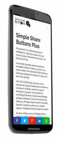 Simple Share Buttons Plus 1.1.1
