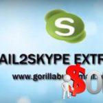 Get Gorilla Email2Skype 1.0