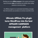 Get Ultimate Affiliate Pro 3.0 Nulled Free Download