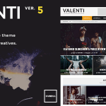 Download Valenti v5.4 – WordPress HD Review Magazine Theme