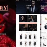 Download LUXURY – E-Commerce and Blog PSD Theme