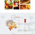 Hudebia – Restaurant WordPress Theme Menu Cart