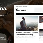 Download Barcelona v1.4.5 – Clean News & Magazine WordPress Theme