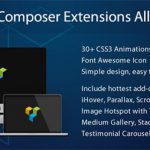[Get] Visual Composer Extensions All In One v3.3.8