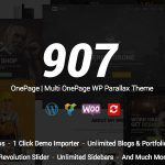 [Get] 907 v4.0.11 – Responsive WP One Page – Multi One Page Parallax