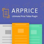 [Get] ARPrice v2.5.1 – WordPress Pricing Table & Team Showcase