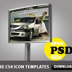 Advertising Billboard PSD