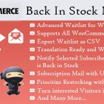[Get] Back In Stock Notifier v6.6- WooCommerce Waitlist Pro