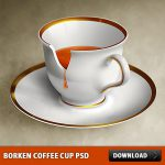 Borken Coffee Cup PSD