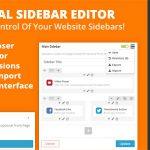 [Get] Visual Sidebar Editor for WordPress v1.0.2