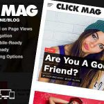 [Get] Click Mag 1.03.0 – Viral WordPress News Magazine/Blog Theme