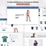 Creative Multipurpose Ecommerce Free PSD Template