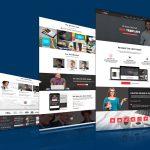Creative Multipurpose Website Template Free PSD