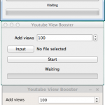 [GET] Youtube View Booster [Windows/OSX/Linux] 2017 – Bypass the 301 Views
