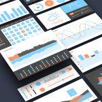 Dashboard UI Elements Kit PSD Freebie