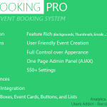 [Get] Event Booking Pro v3.5 – WP Plugin [Paypal or Offline]