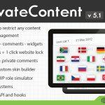 [Get] PrivateContent v5.1 – Multilevel Content Plugin