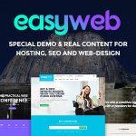 [Get] EasyWeb v2.0.2 – WP Theme For Hosting, SEO and Web-design Agencies