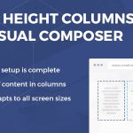 [Get] Equal Height Columns for Visual Composer