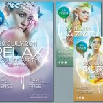 Elegant Colorful Flyer Design PSD