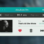 FM Radio Player Interface Free PSD