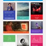 Flat Colourful Mobile UI Design Kit PSD