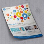 Flyer Mockup Template Free PSD
