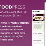 [Get] Foodpress v1.3.6 – Restaurant Menu & Reservation Plugin