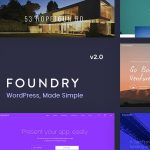 [Get] Foundry v2.0.0 – Multipurpose, Multi-Concept WP Theme
