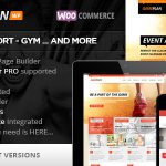 [Get] Gameplan v1.5.7 – Event and Gym Fitness WordPress Theme