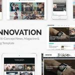 [Get] INNOVATION v3.3: Multi-Concept News, Magazine & Blog Template