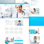 Medical Services Website Free PSD Template