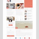Mini Web UI Kit Free PSD