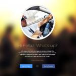 Minimal Flat Profile Page PSD