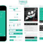 Thimus UI Kit Free PSD
