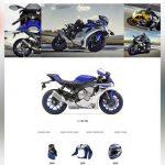 Motor Bike Shop Free PSD Website Template