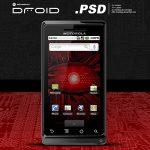 Motorola Droid PSD File