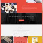 Multipurpose Creative Agency Portfolio Website Template PSD
