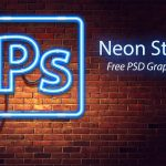 Neon Style Free PSD Graphics