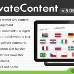 [Get] PrivateContent v5.051 – Multilevel Content Plugin