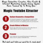 [GET] Magic Youtube Xtractor 1.20 – Video Marketing SEO – 97$