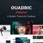 [Get] Quadric v1.2.1 – A Modern Theme for Creatives