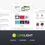 Simple Modern Clean Multipurpose Website PSD Templates