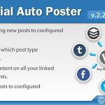 [Get] Social Auto Poster WordPress Plugin v2.2.5