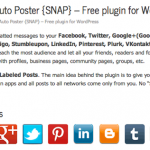 [GET] Social Networks Auto Poster PRO (SNAP)