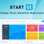 [Get] StartUI v1.1.3 – Premium Bootstrap 4 Admin Dashboard Template