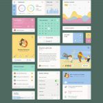 The Flex UI Kit Free PSD