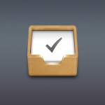 To Do List Wooden Box Icon PSD